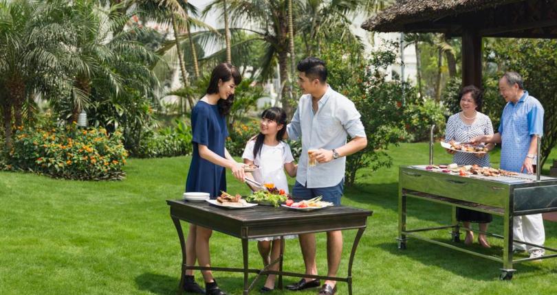 Biệt thự villa park mở đầu mô hình biệt thự sân vườn ở khu Đông